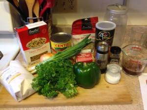 Ingredients glamour shot.