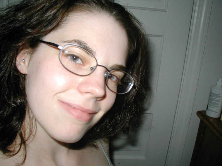 Me and my glasses, circa 2003.