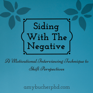 Siding With the Negative