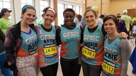 Amy, Beth, Uzo, Aliza, and Jackie. Beth and Aliza are also cancer survivors!