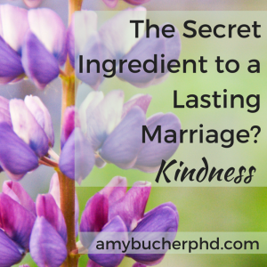 The Secret Ingredient to a Lasting