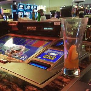 Mmm . . . beer, cigarette butts, and video blackjack.