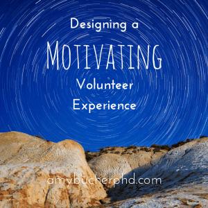 Designing aVolunteer Experience