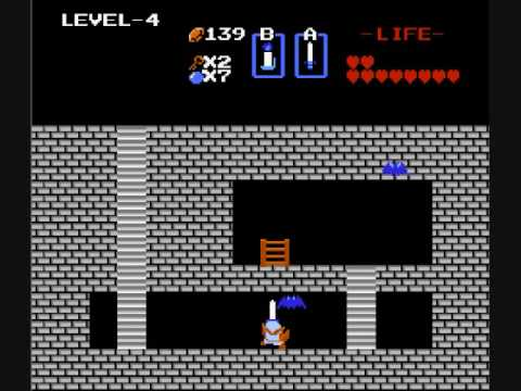 Don't ask how Link totes a ladder around while fighting the bad guys.