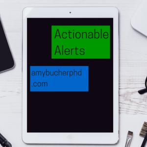Actionable Alerts