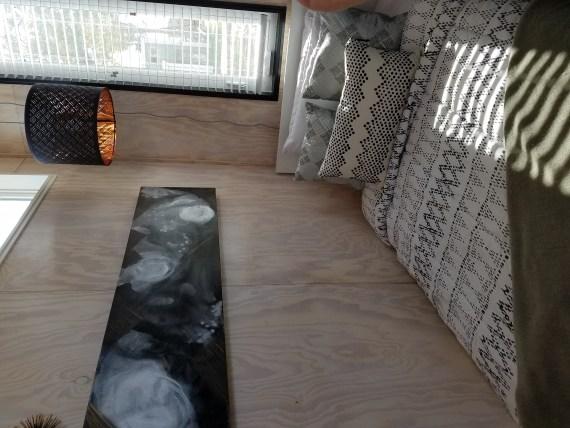 A second tiny home interior.