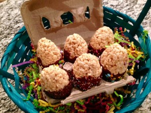 Eggs to make your Easter Snap, Crackle, and Pop