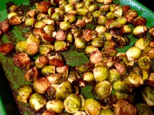 My Favorite Veggie: Brussel Sprouts…hahhhh?!