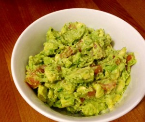 Guacamole=Fun! My first real, live catering gig!