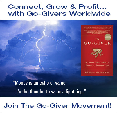 Join The Go-Giver Movement