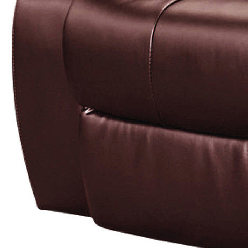 Dream Recliner Bonded Leather -1R -BROWN