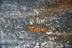 Native, a poem.