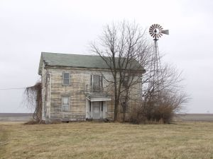 Poem about an old farmhouse.