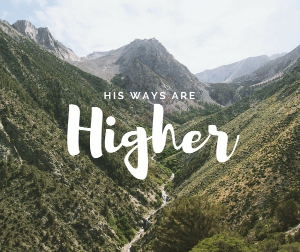 His ways are