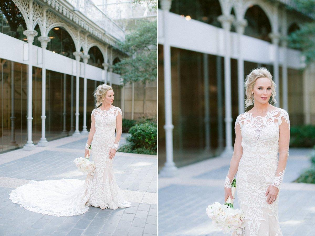 dallas bridal portraits at the crescent hotel