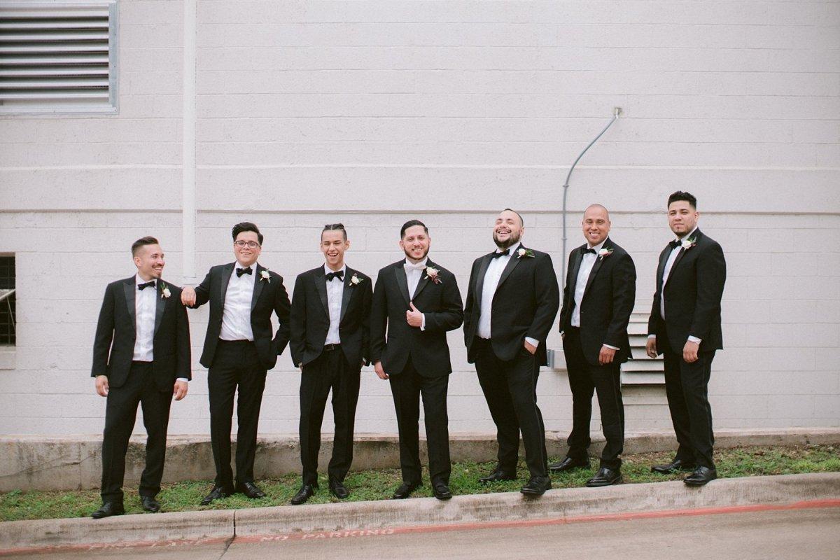 place at tyler dallas wedding photographer groomsmen