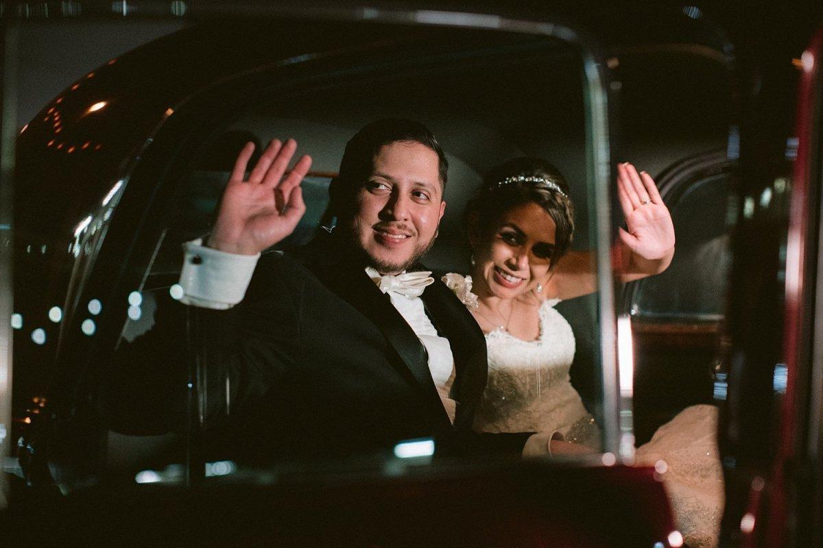 hickory street annex wedding getaway car