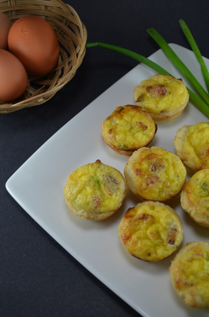 Mini Bacon and Cheese Quiches   Amy Kay's Kitchen