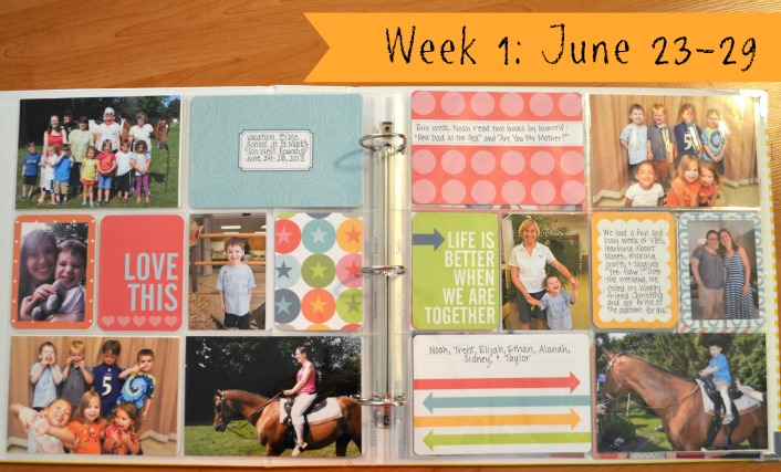 Project Life Week 1