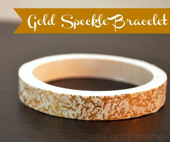 Gold Speckle Bracelet