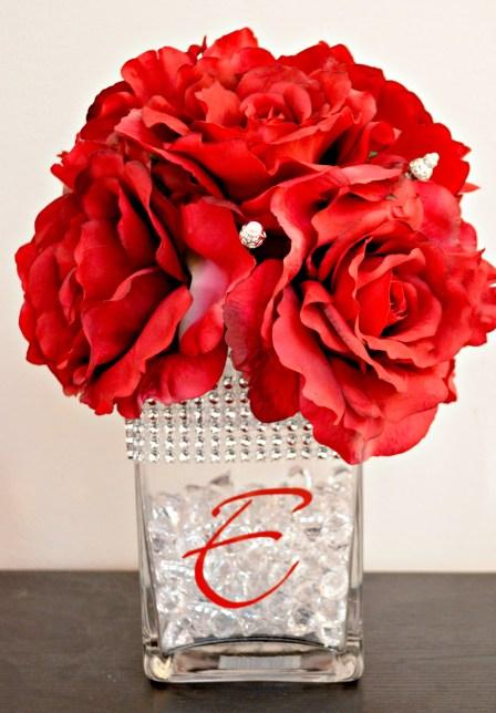 David Tutera wedding centerpiece