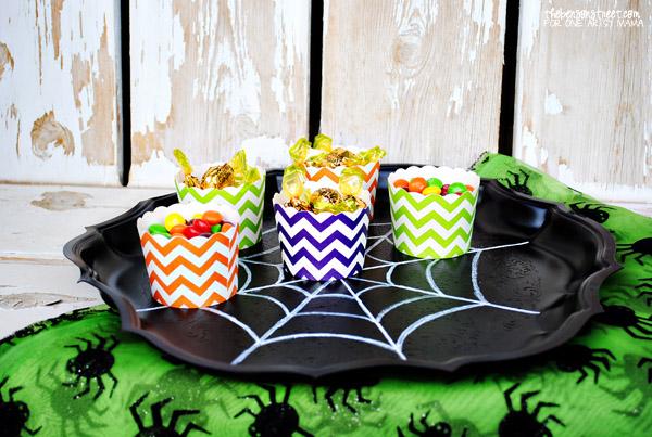 Spider Web Party Tray Tutorial