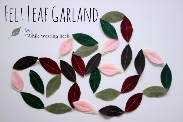leaf garland 012ps