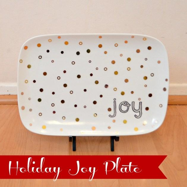 JOY Plate #MSHoliday