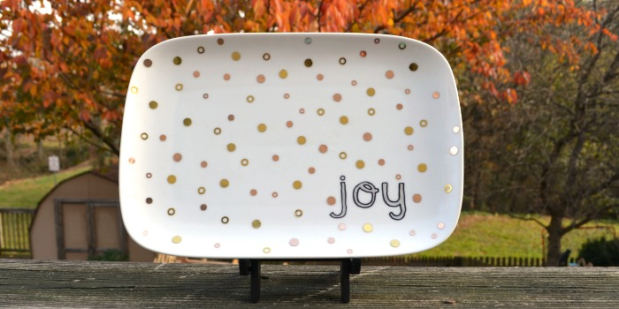 Holiday Joy Plate