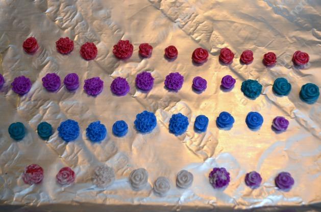 DIY Clay Cabochon Flowers