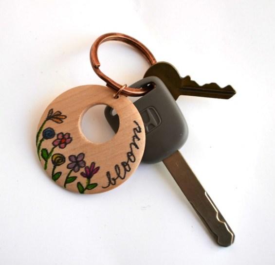 Bic Mark-It Bloom Keychain