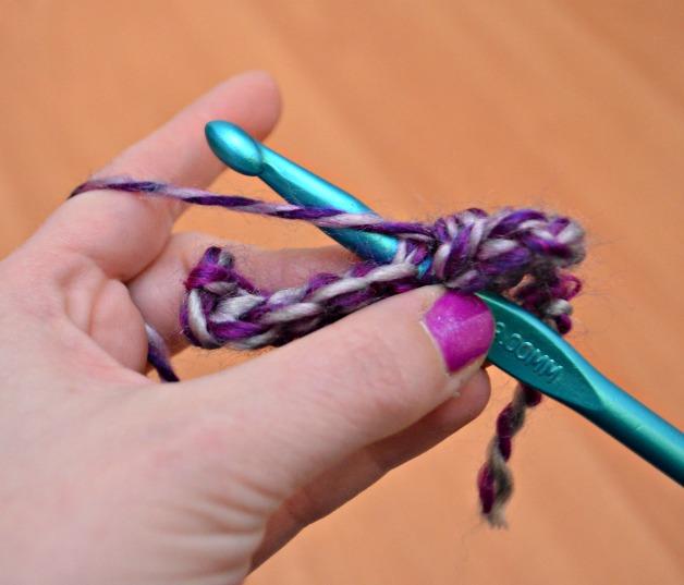 Half Double Crochet Stitch
