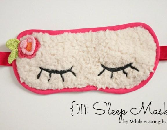sleep mask  -title