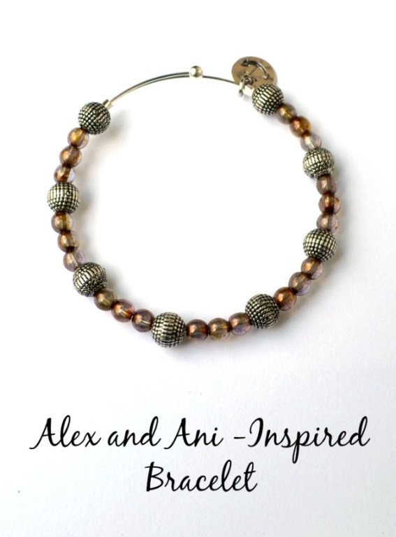 Alex and Ani-Inspired Bracelet