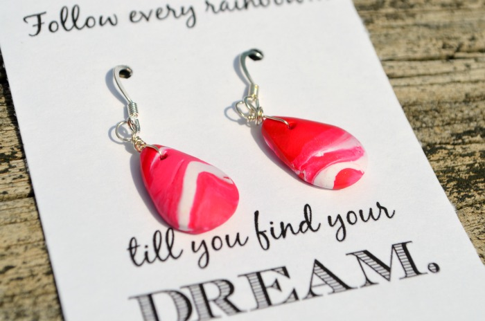 Sculpey Clay Earrings