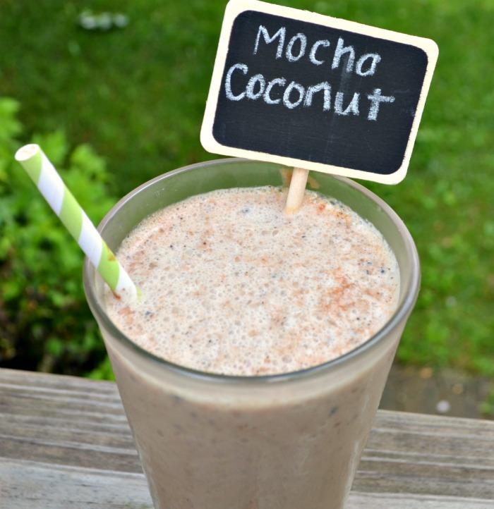 Mocha Coconut Smoothie