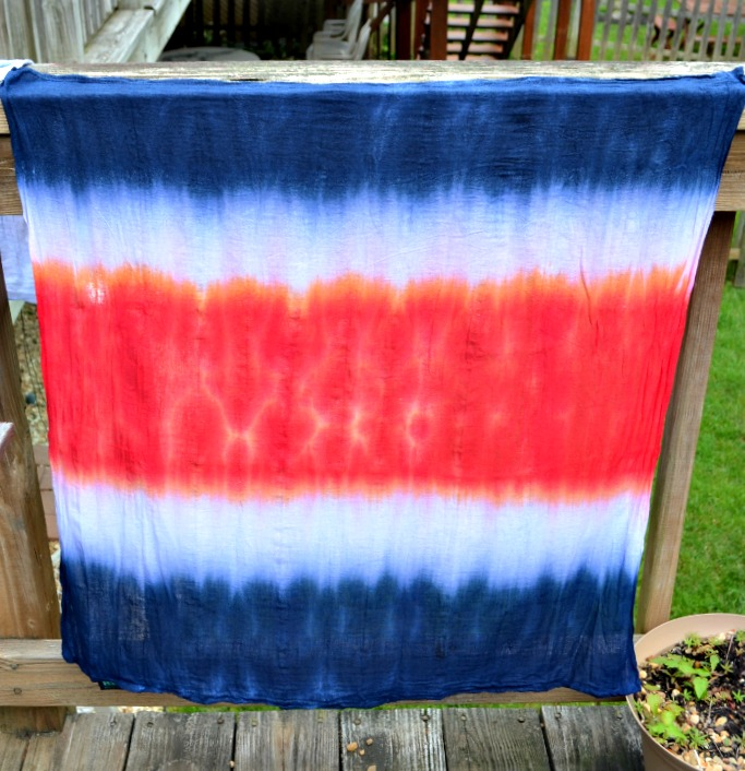 Tie Dye Kitchen Towels