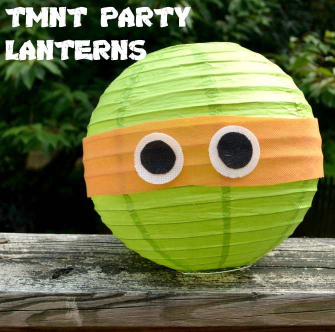 Teenage Mutant Ninja Turtles Party Lanterns #TMNT