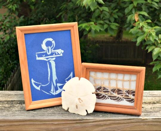 Nautical Decor with Anchor