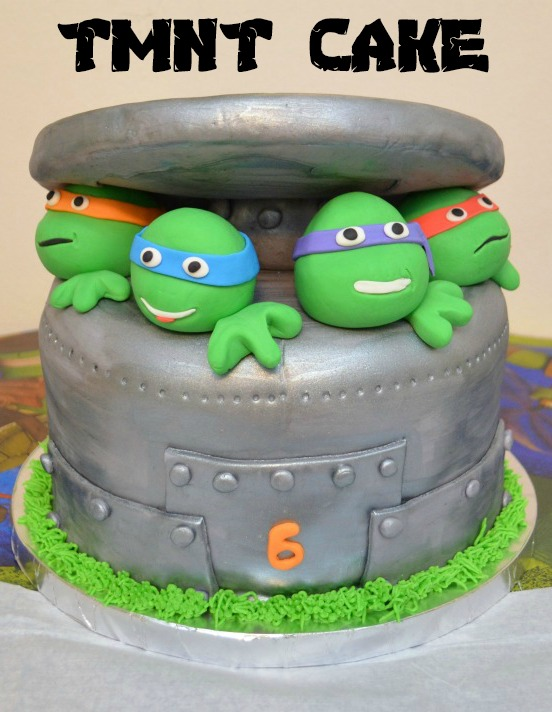 Fine Tmnt Birthday Cake Amy Latta Creations Funny Birthday Cards Online Fluifree Goldxyz