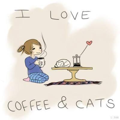 coffeeandcat