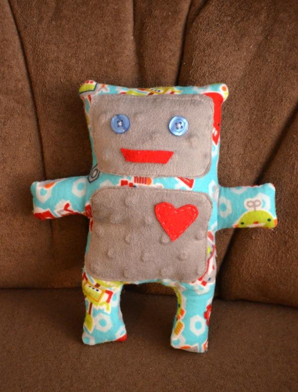 Stuffed Robot Toy