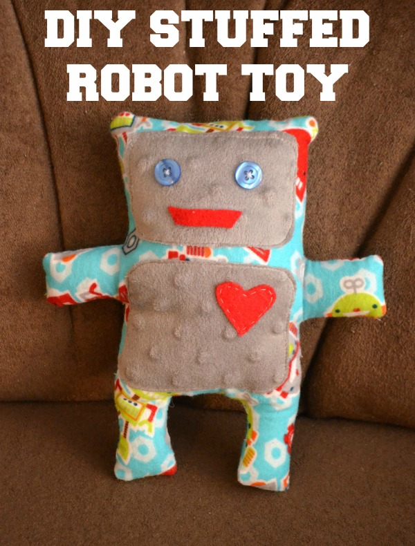 Stuffed Robot Toy