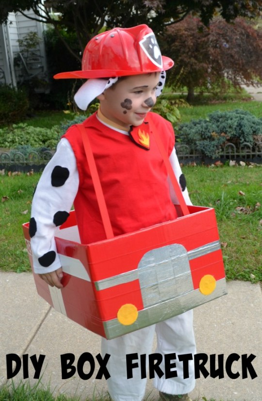 Paw Patrol Firetruck Costume