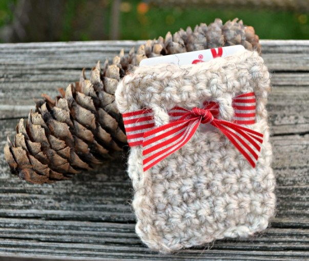 Crochet Gift Card Holder