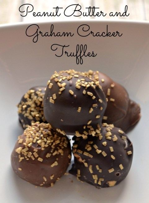 Peanut Butter Graham Cracker Truffles