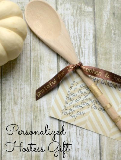 Personalized Hostess Gift