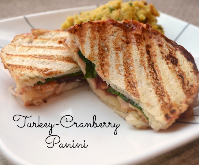 Turkey Cranberry Panini