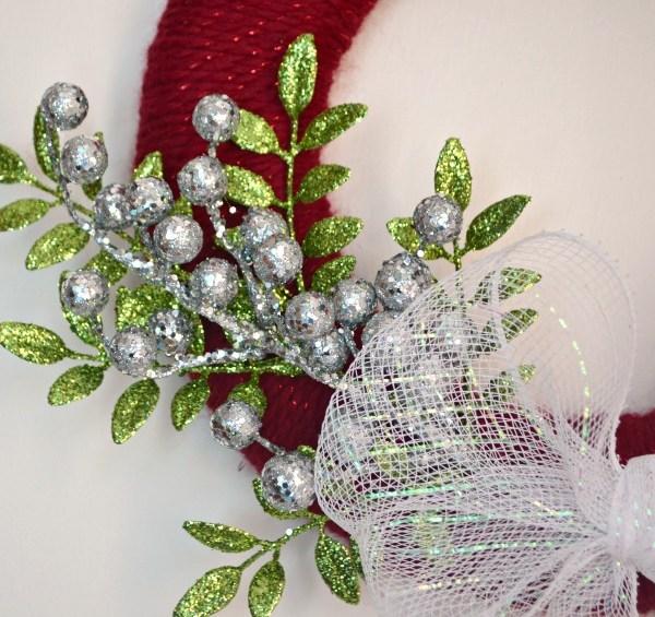 Sparkly Christmas Wreath