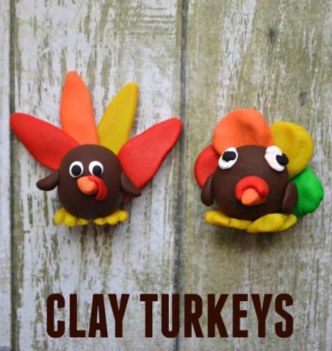 Clay Turkeys
